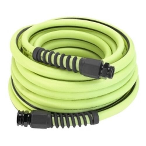 """Flexzilla Pro 5/8"""" x 100' Water Hose with 3/4"""" - 11 1/2"""" GHT Fittings New!"""