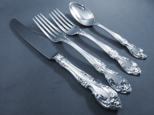 MELROSE-GORHAM STERLING 4 PIECE PLACE SETTING(S)-FRENCH BLADE