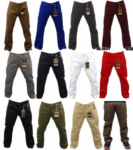 NWT MEN ACCESS SOLID COLORS OF JEANS LEVI'S STYLE JEANS AP14011 SIZE 32 TO 56