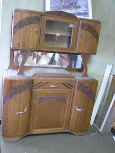 Oak Art Deco Buffet