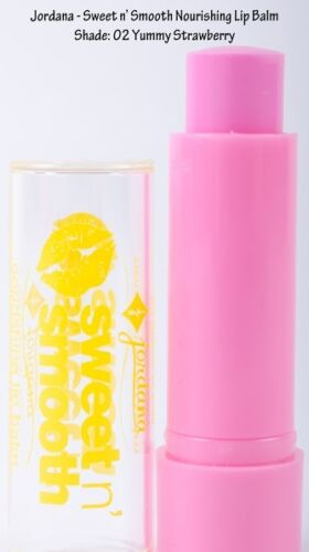 JORDANA Sweet N' Smooth Nourishing Lip Balm (yummy strawberry) NEU&OVP