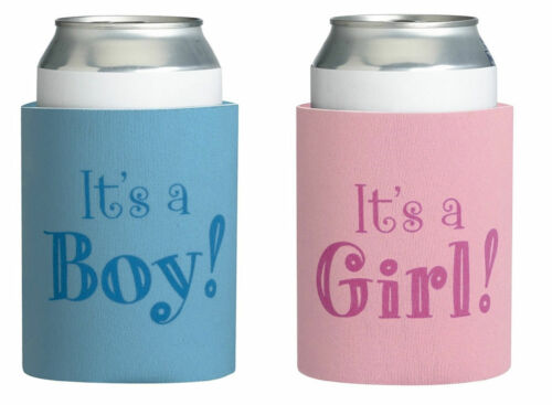 Baby Shower Favours Boy Girl Stubby Give Guests Gifts Party Present Bomboniere
