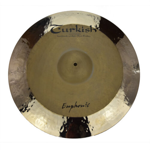"TURKISH CYMBALS Becken 21"" Ride Rock Euphonic bekken cymbale cymbal 2944g"