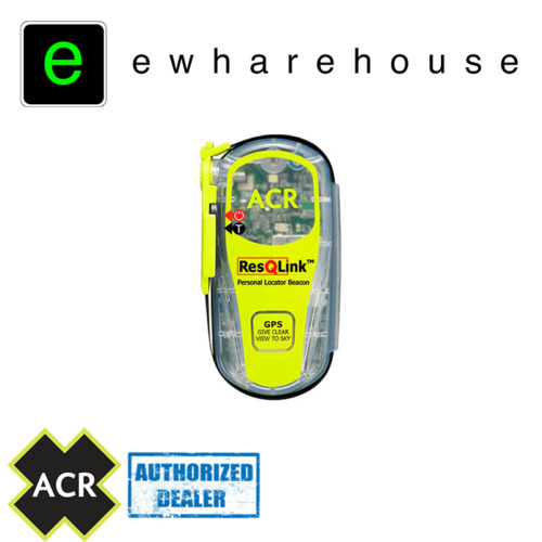 ACR ResQLink GPS PLB PERSONAL LOCATOR BEACON PACKAGE INCLUDING POUCH