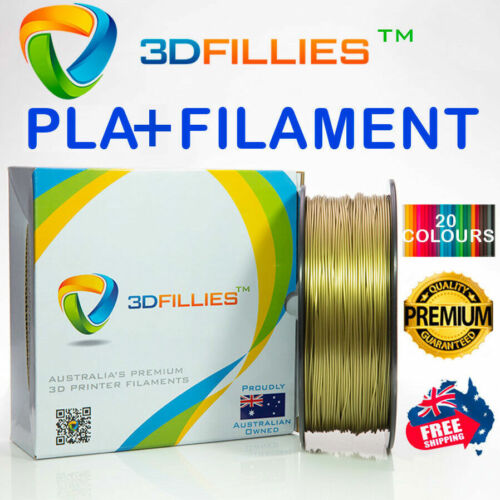 3D Printer Filament ABS/PLA+ 1.75mm 1kg 20 Colours Aussie Stock Fast Shipping