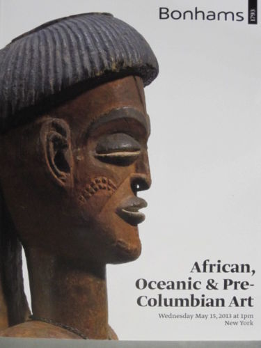 Bonhams 5/15/13 African Tribal Oceanic & Pre-Columbian