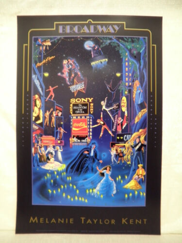 Melanie Taylor Kent Broadway The Phantom Of The Opera Open Edition Lithograph