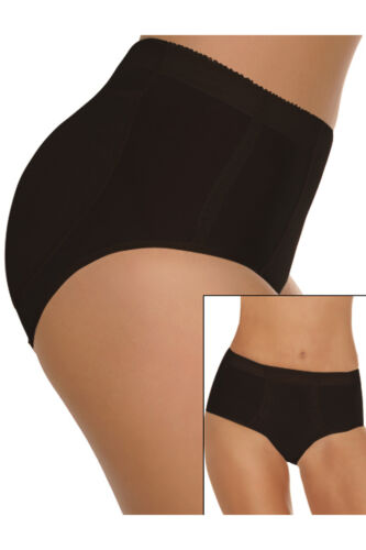 NEW WOMEN'S FULLNESS SILICONE BUTTOCKS BUTT SHAPER LIFTER  PANTY BLACK #7010