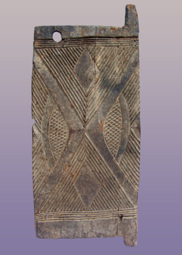 "Old African Igbo Door from Nigeria 40"" high x 17"" wide x 1"" deep"
