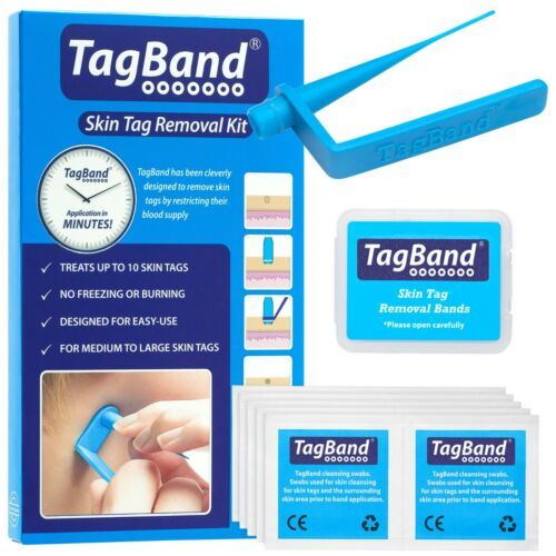 TagBand Skin Tag Remover Device for Quick & Effective SkinTag Removal Treatment <br/> Free next day delivery & 60 day money back guarantee