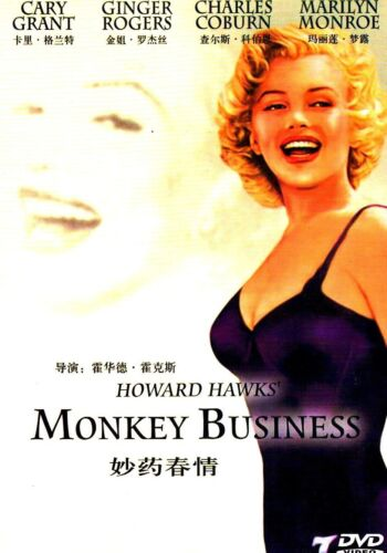 "New DVD  "" Monkey Business "" Cary Grant, Marilyn Monroe"