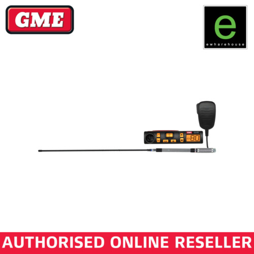 GME TX3100VP (VALUE PACK) INCLUDING TX3100 UHF RADIO, AE4018K2 & MB407SS