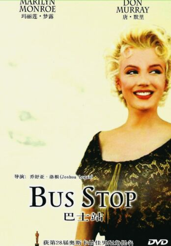 "New DVD "" Bus Stop ""  Marilyn Monroe, Don Murray"