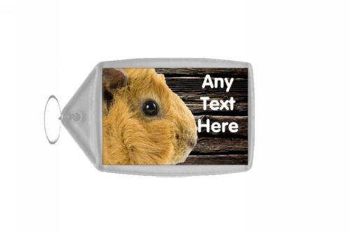 Guinea Pig Cute Personalised Keyring