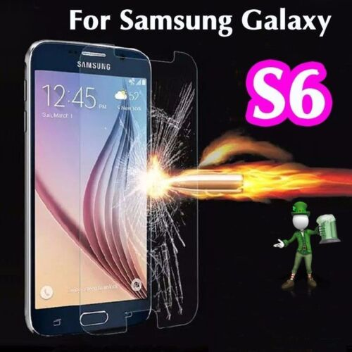 2 x 100% Genuine Tempered Glass 9H Screen Protector For Samsung Galaxy S6