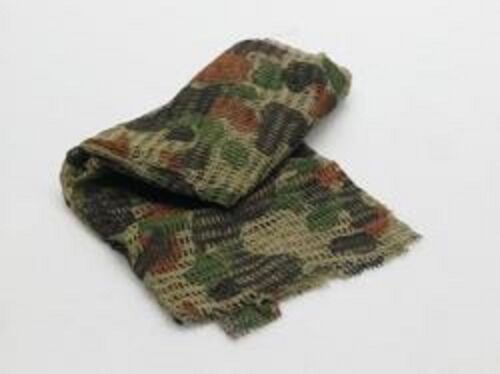 AUSCAM DPCU Camouflage Scrim Netting Net Cammo Face Veil Military Scarf 1mModern, Current - 36066