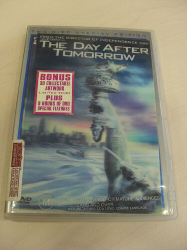 The Day After Tomorrow, movie - 2 disc dvd set