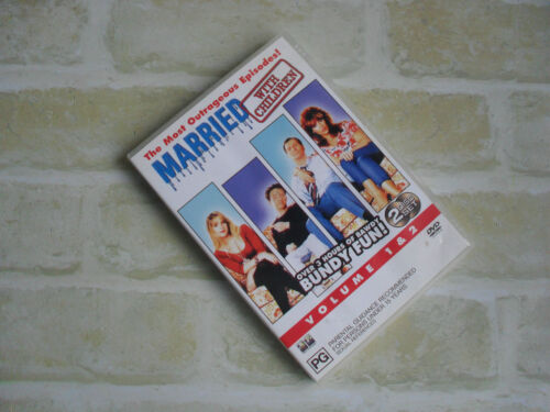 Married With Children- The Most Outrageous Episodes- VOL 1 & 2 - TWO DISCS DVD