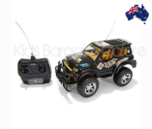 AUS QUALITY RC 4x4 Four Wheel Drive Off Road Jeep Truck Toy 27MHz- Gr8 Fun