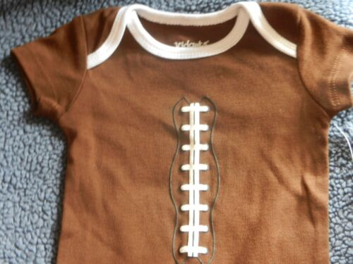 Football Outfit NEW Infant Clothes Newborn Baby Sport Creeper Boy 0 3 6 9 Months