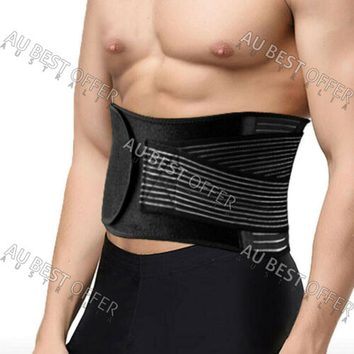 Lumbar & Lower Back Support Belt Brace Strap, Pain Relief, Posture Waist Trimmer <br/> Best Seller in 2018, Continues 2019!!!