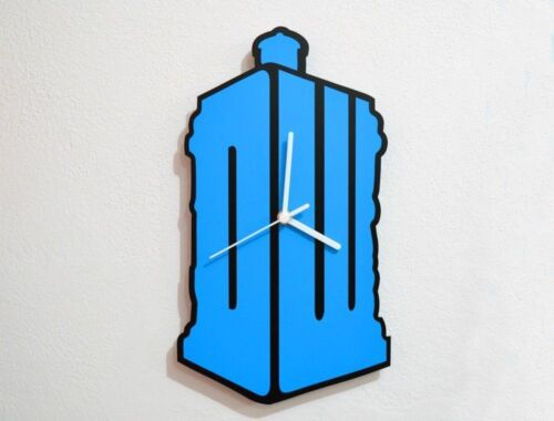 Doctor Who Tardis Silhouette - Wall Clock