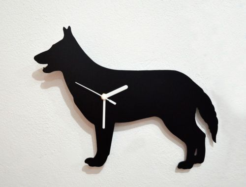 German Shepherd Dog - Wall Clock