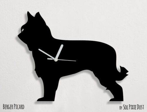 Berger Picard Dog Silhouette - Wall Clock