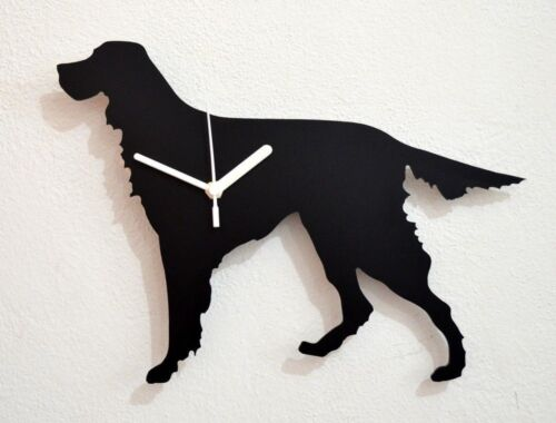 Gordon Setter Dog Silhouette - Wall Clock