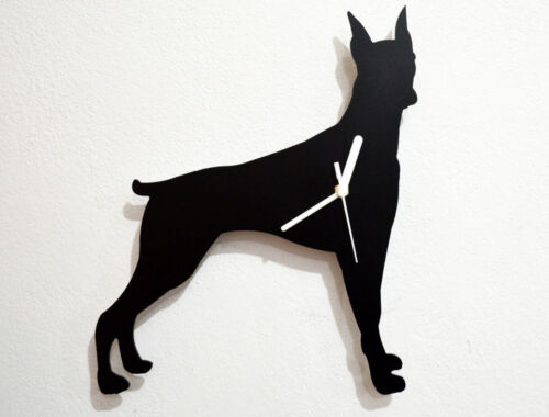 Doberman Pinscher Dog - Wall Clock