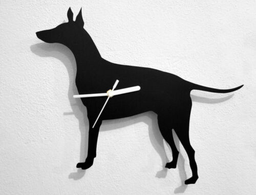 Manchester Terrier Dog - Wall Clock