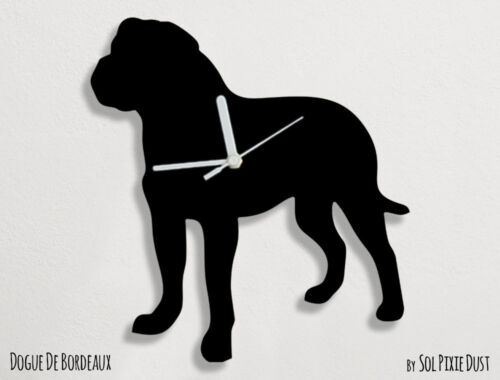 Dogue de Bordeaux Silhouette - Wall Clock