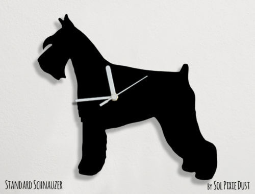Welsh Terrier Dog Silhouette - Wall Clock