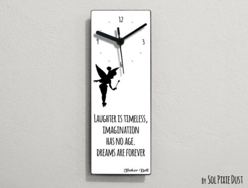 Tinker Bell Fairytale - Laughter is timeless, imagination ... - Wall Clock