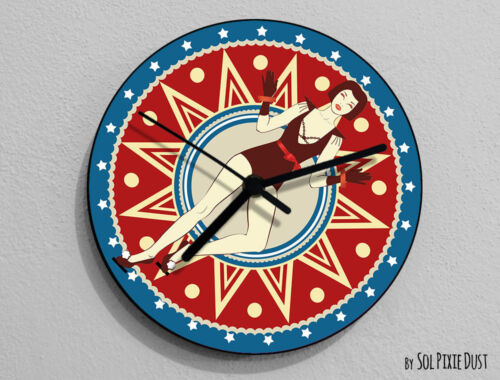 Welcome to the Circus, Circus Wheel Wall Clock