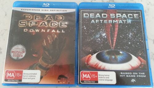 Dead Space - Downfall and Aftermath (Blu-ray, 2011) - Region B - New