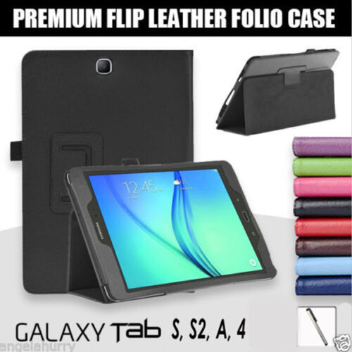 Premium Flip Case for Samsung Galaxy Tab S4 10.5 S2 9.7 Tab A 9.7 8.0 10.5