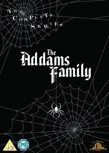 "THE ADDAMS FAMILY COMPLETE SERIES COLLECTION DVD BOX SET 9 DISCS ""NEW&SEALED"""