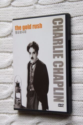 Charlie Chaplin: The Gold Rush (DVD), Like new (with Korean subtitle), free post