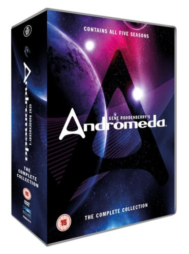 "ANDROMEDA COMPLETE SERIES COLLECTION 1-5 DVD BOX SET 30 DISCS ""NEW&SEALED"""