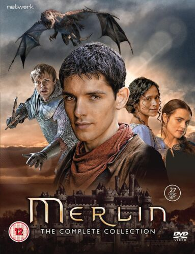 """MERLIN THE COMPLETE SERIES COLLECTION 1-5 DVD BOX SET 27 DISCS """"NEW&SEALED"""""""