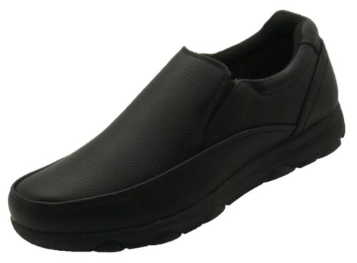 NEW Men's Kitchen Non-slip Slip-on Working Skid Resistance Synthetic Shoes Black