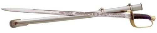 United States Military Staff Officer's Sword with scabbardReproductions - 156470