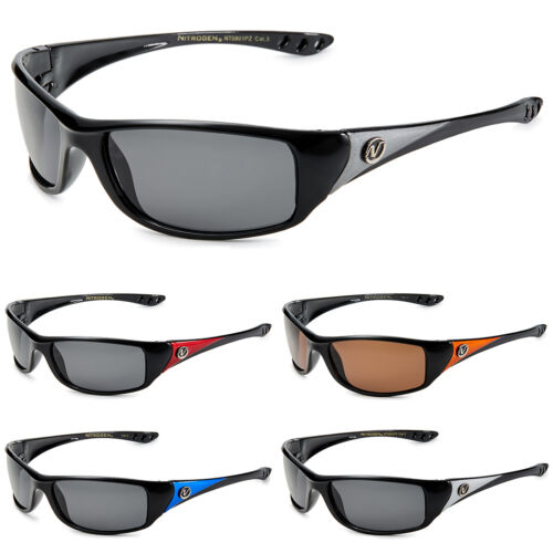 Nitrogen Small POLARIZED Men Women Fishing Running Wrap Around Sport Sunglasses