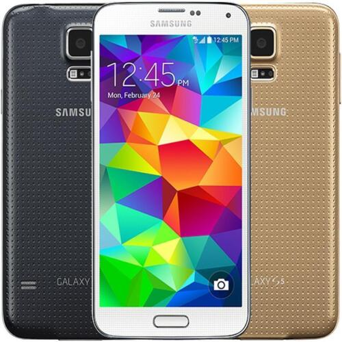 Samsung Galaxy S5 16GB White Gold Black Unlocked SMG900A AT&T Tmobile Smartphone