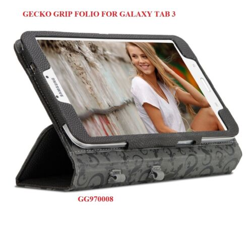 """GECKO GRIP FOLIO FOR SAMSUNG GALAXY TAB 3, 8"""" DEVICE, CASE WITH STAND, GG970008"""