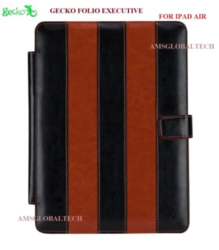 GECKO FOLIO EXECUTIVE CASE WITH STAND FOR APPLE IPAD AIR + PEN & STYLUS,GG600010