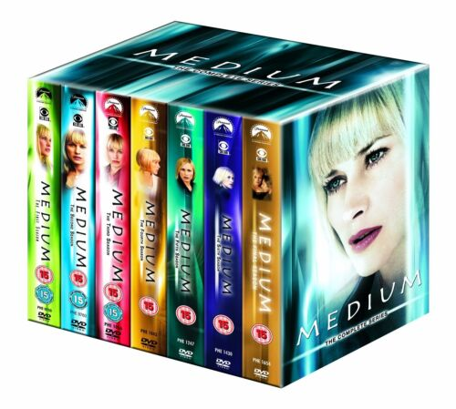 """MEDIUM COMPLETE SERIES COLLECTION 1-7 DVD BOX SET 34 DISCS R4 """"NEW&SEALED"""""""