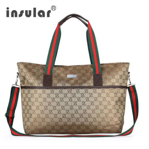 Fashion Baby Diaper Bags Tote Nappy Bags Italia Style Mummy Mommy Changing Bags
