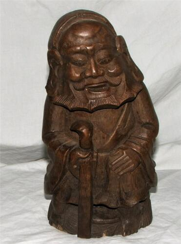 Very Beautiful Chinese Carved Bamboo Statue